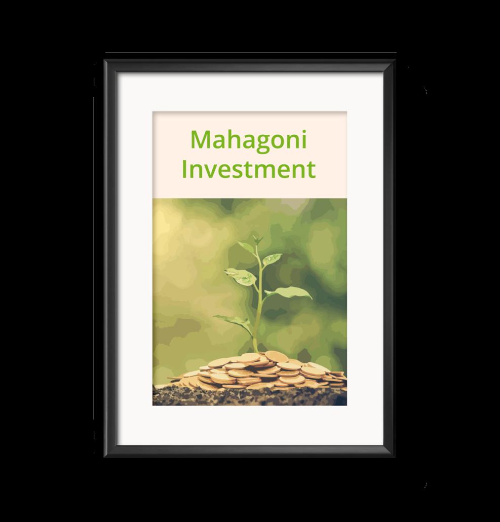 Grüne Investments Mahagoni nachhaltig Geld anlegen